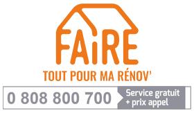 Faire : tous éco-confortables. 0 808 800 700 (service gratuit + prix d'un appel)