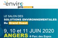 EnviroPro Grand Ouest Le salon des solutions environnementales du Grand Ouest 9, 10 et 11 juin 2020 à ANGERS parc des expos